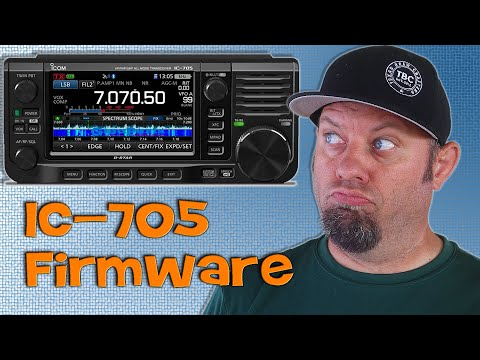 How To Upgrade Firmware on the Icom IC-705 | IC-705 Firmware Update