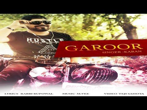 GAROOR LYRICS - Karan