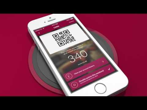 The new Costa Coffee Club app