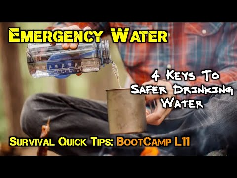 4 Keys to Finding Water & Making It Safe to Drink.
