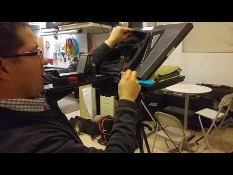 Proline Studio Teleprompter Setup