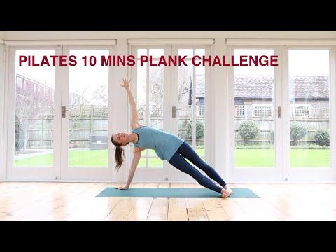 Pilates Plank Challenge 10 mins
