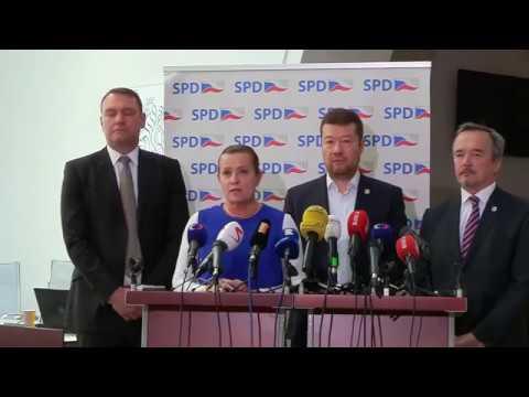 Tomio Okamura: SPD podává ústavní stížnost proti zvyšování ceny elektřiny
