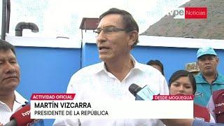 """Presidente Vizcarra sobre cambios en ministerios: """"En absoluto es una crisis"""""""