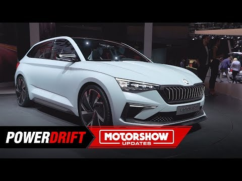Skoda Vision RS : Will the Rapid look like this? : PowerDrift