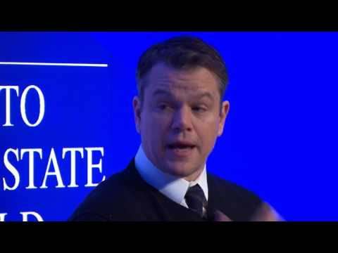 Davos 2017 - An Insight, An Idea with Matt Damon and Gary White