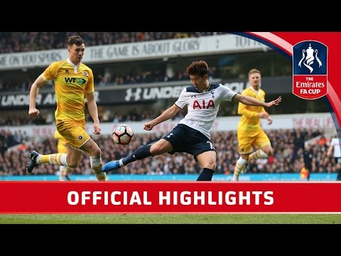 Tottenham Hotspur 6-0 Millwall - Emirates FA Cup 2016/17 (QF)   Official Highlights