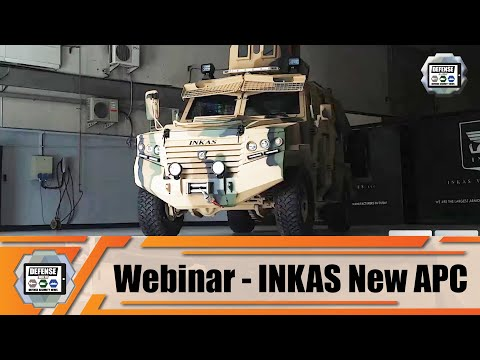 Webinar INKAS Vehicles based in UAE unveils its new Hornet 4x4 pickup APC armored personnel carrier
