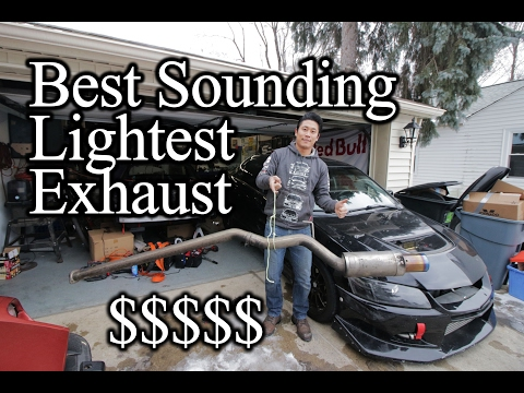 I Can Lift This Exhaust With ONE FINGER! Good Bye Evo Diffuser - Voltex Evo Build #26
