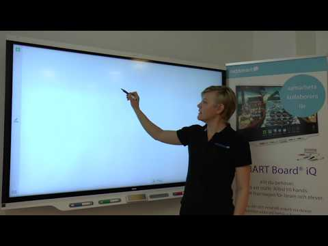 SMART Board iQ 7000 för skola (kort version)