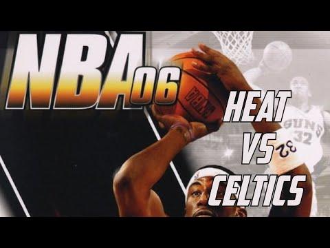 NBA 06 (2005) - Sony PSP - Miami Heat vs Boston Celtics