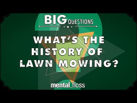 What's the history of lawn mowing?  - Big Questions - (Ep. 232)