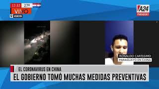 #Ahora Paraguayo en China: