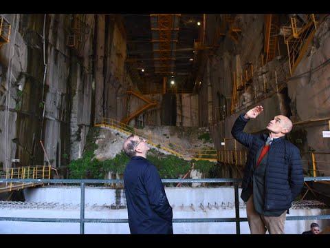 """Cave di Candoglia - L'Arcivescovo alle """"radici"""" del Duomo: «Scavando troviamo cose preziose»"""