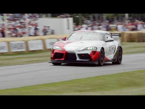 Toyota Supra GT4 Concept at Goodwood Festival of Speed