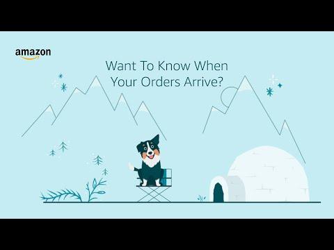 amazon.co.uk & Amazon Promo Codes video: How to Set Up Shipment Notifications Using the Amazon App