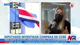 Diputados investigan compras de CCSS