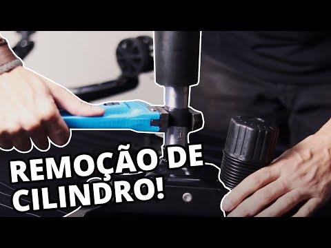 REMOVENDO O CILINDRO DE UMA CADEIRA GAMER!