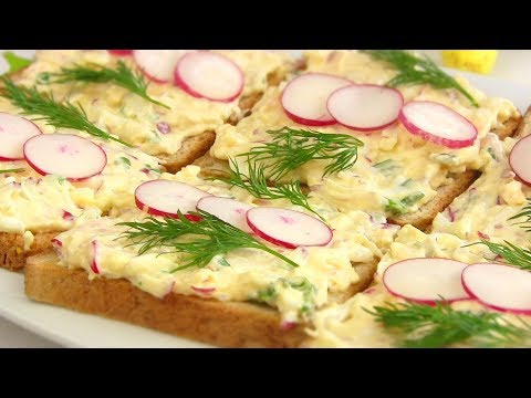 Намазка на хлеб за 5 МИНУТ!!!Закуска на ПАСХУ для пикника.