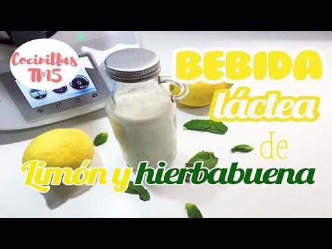 Bebida la?ctea de limo?n | Yogur líquido de limón
