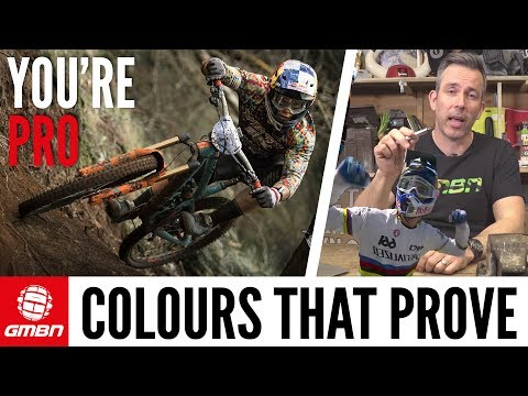 Martyn Ashton's Colours That Prove You Are A Pro Mountain Biker