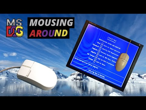 Installing and Exploring Mouse Drivers for DOS