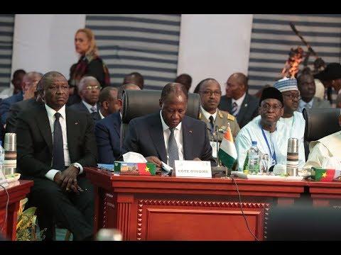 Le Président OUATTARA a participé au Sommet de la CEDEAO sur la lutte contre le terrorisme
