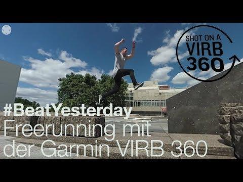Freerunning mit der Garmin VIRB 360