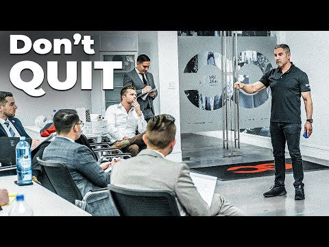 The Truth About Quitting, Bankruptcy and Business - Grant Cardone Trains his Sales Team LIVE! photo
