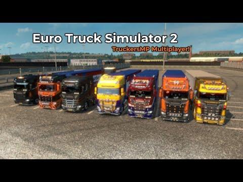 Euro Truck Simulator 2  TruckersMP Livestream 14072018