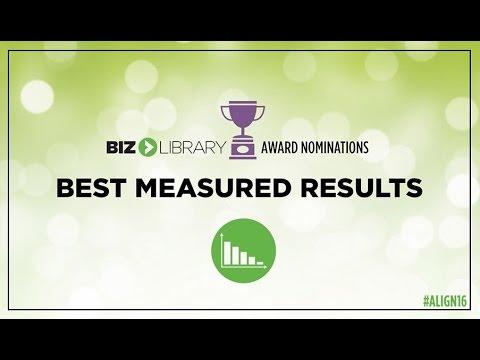 ALIGN 2016 - Best Measured Results