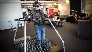 Hands-On with VR OmniDirectional Treadmill!