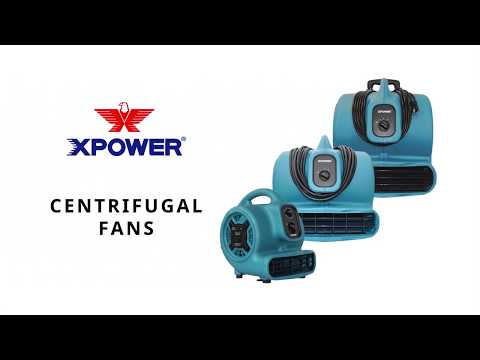 XPower Air Mover with Wheels  1 HP 3600 CFM Model# X-830H