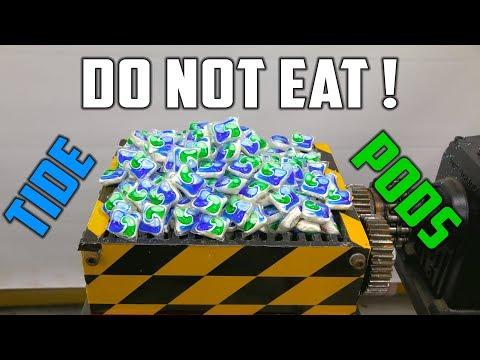 connectYoutube - Shredding 500 Tide Pods ( Tide Pod Challenge the SAFE way ! )
