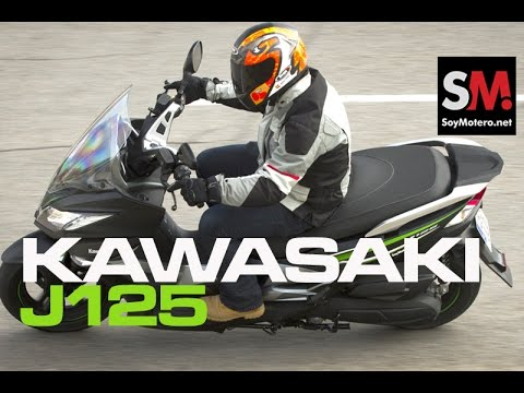 Prueba Scooter: Kawasaki J125 Special Edition ABS 2016