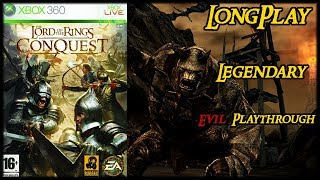 The Lord of the Rings: Conquest - Longplay Evil Walkthrough (Legendary Difficulty) (No Commentary)