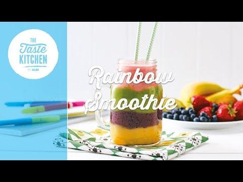 Back to School - Rainbow Smoothie