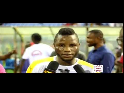 VIDEO: Mubarak Wakaso mourns captain Asamoah Gyan's injury ahead of Egypt World Cup qualifier