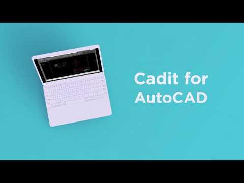 Kompletter din AutoCAD med Cadit - teaser