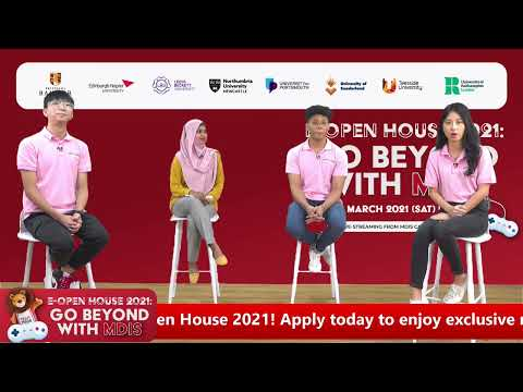 MDIS E-Open House 2021 - MDIS College
