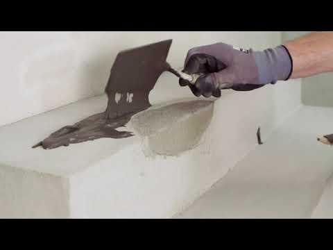 Reparasjon av betongtrapp - Weber Outdoor Repair