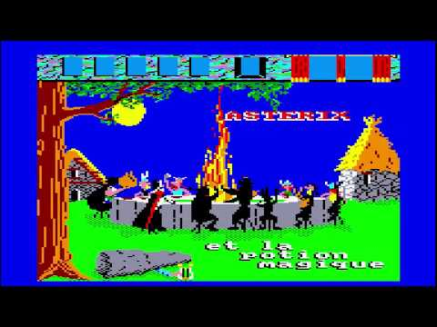 Astérix et la Potion Magique - Amstrad CPC Longplay