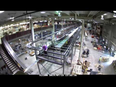 Conveyor Installation Time Lapse