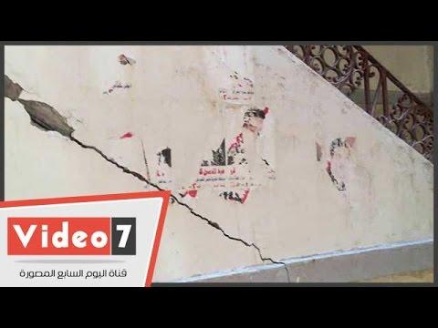 أصحاب 4 منازل بالمحلة يتضررون من بناء برج مخالف بارتفاع 15طابق