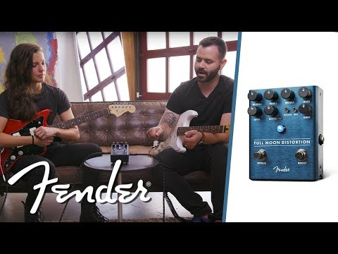The Full Moon Distortion   Effects Pedals   Fender