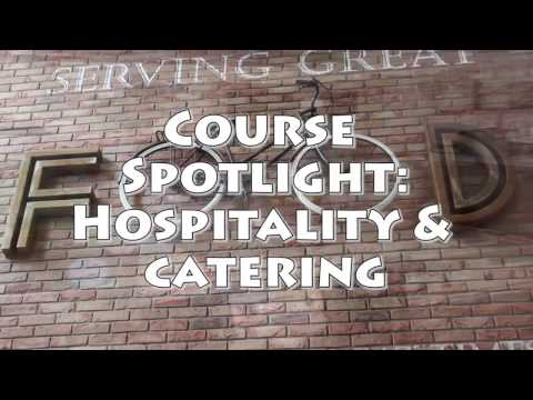 Course Spotlight - Hospitality & Catering