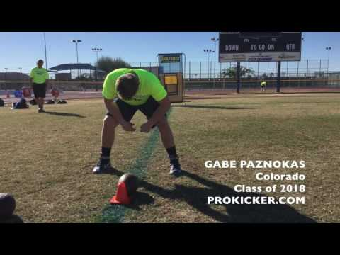Gabe Paznokas, Prokicker.com Long Snapper, Class of 2018