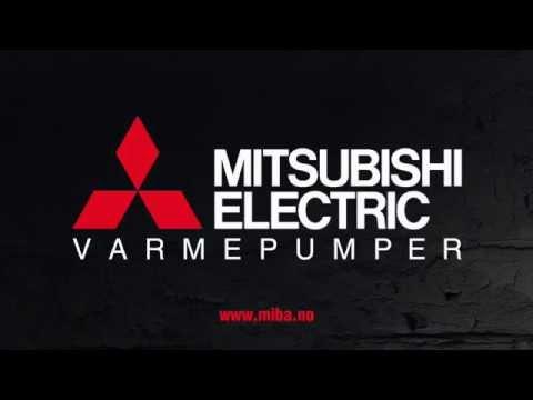 MItsubishi Electric testvinner varmepumpe