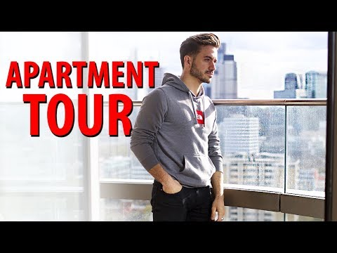 My Apartment Tour in London! | Travel Essentials and Closet Tour | ALEX COSTA