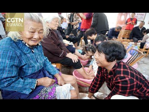 Xi insta a buscar formas de abordar el envejecimiento de la población de China